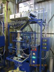 Automatic machines for packing and packing of