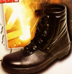 Ботинки утепленные с метподноском