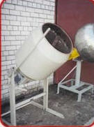 Mixer. It is intended for mixing of the loose,