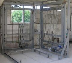 Оборудование для производства газобетонных блоков