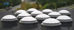 Кровельные зенитные купола типа К2N