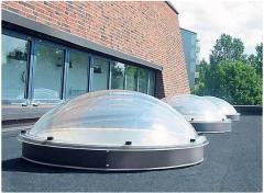 Круглые сферический акриловый купол M3P