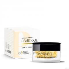 Pearlique אנטי-אייג 'פנינים Nano (Pearlіk Antі-אגה ננו פנינים) - תרופה לטיפול בקמטים