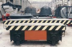 Тележка моторная шлейфовая, типоразмерный ряд: г/п 5 тн, 10 тн, 20 тн, 32 тн для транспортирования изделий в технологическом цикле производства, сталеплавильное оборудование, пр-во Днепротяжмаш, Украина
