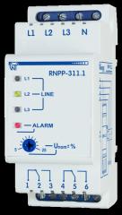 Двухканальное реле напряжения РНПП-311-1
