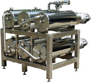 Pasteurizer (scraper heat exchanger) of SPO-2.06