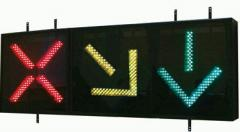 Traffic lights of a reversive strip,