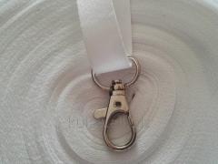 Тесьма (лента) для беджей 1 см