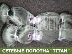 Полотно сетевое TITAN 40х0,15х150х150, леска