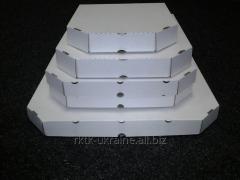 Упаковка под пиццу № 350 (бел)