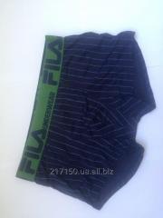 Мужское белье FILA (Фила мужские трусы, футболки и