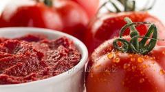 """Бочковая томатная паста ТМ """"Наш продукт и к"""" 220кг 30% СВ"""