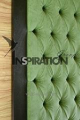 Мягкая стеновая панель как декор стен