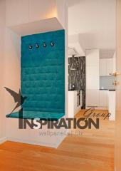 Tấm to lát tường làm bằng vải. Wall Panel...