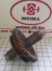 Вал первичный (фрезы водянки) L=155 мм