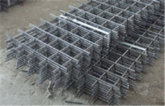 Grid welded plaster of a low-carbonaceous wire,