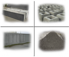 Blocks base (crushed stone)