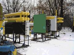 Gas odorization complex