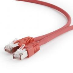 Патч-корд 0.5м Cablexpert (PP6A-LSZHCU-R-0.5M) SFTP, червоний, cat 6a