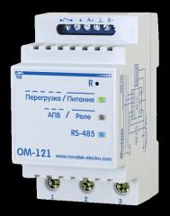 Ограничитель мощности однофазный ОМ-121 (MODBUS протокол)