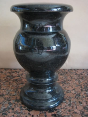 Granite vases, products from granite