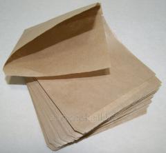 Уголок бумажный бурый крафт 140х140