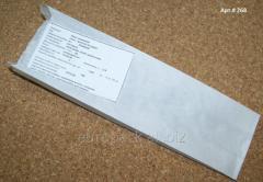 Пакет бумажный 270х80х50 крафт белый
