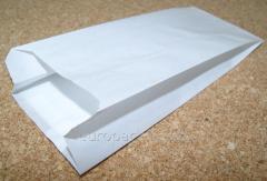 Пакет бумажный 220х90х50 крафт белый...