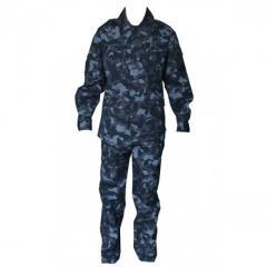 Camouflage uniform City rip-stop