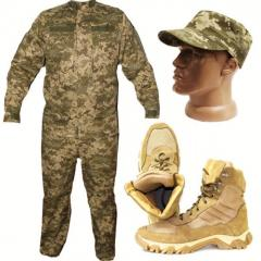 Costumes uniform from camouflage fabrics
