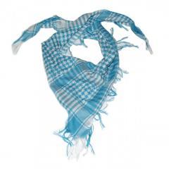 Шемаг - арафатка (белый с голубым)