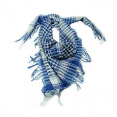 Шемаг - арафатка (белый с синим)