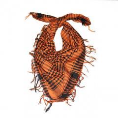 Шемаг - арафатка (оранжевый с черным)