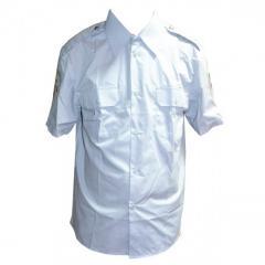 Рубашка ДАИ серая короткий рукав