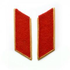 Петлицы красные парадные