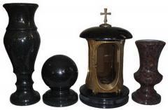 Icon lamp, Vase, Sphere.