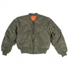 Light overcoat flight jackets
