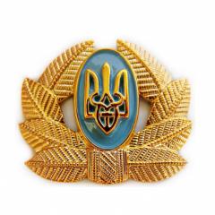 Private cap badge (front, plastic)