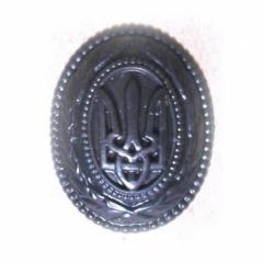 Генеральская кокарда (полевая, пластик)