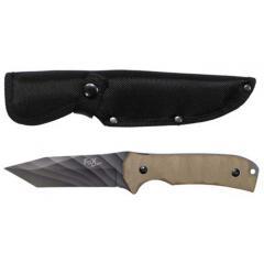 Нож стальной MFH Coyote-1 G10 камуфляжное лезвие