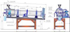 Нагреватель воздушный газовый сушильный НВГ-С-200