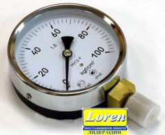 Manometers for oxygen always available