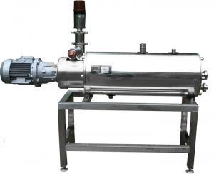 Pasteurizer (scraper heat exchanger) of the