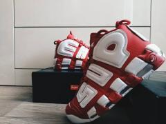 Кроссовки мужские Nike Air More Uptempo X Supreme