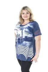 Fashionable, beautiful tunic for magnificent ladies Thames Art. 931T-1