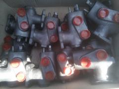 Клапан управления подъема кузова ГАЗ-53