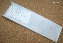 Пакет саше бумажный 270х80х50 крафт белый