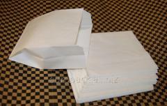 Пакет бумажный саше белый 120х120х50 крафт...