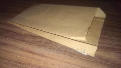 Пакет бумажный саше 200х100х40 крафт бурый вторичный