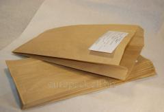 Пакет бумажный для фасовки 310х160х50 бурый...